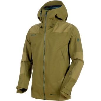 MAMMUT マムート Alyeska Armor HS Hooded Jacket Men 101026430 CLOVER