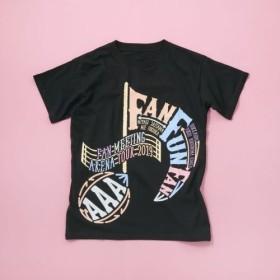 AAA FAN MEETING ARENA TOUR 2019 FAN FUN FAN 【セブンネットショッピング限定】Tシャツ -BLACK-(L)