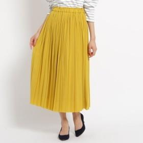 [マルイ]【セール】Lスカート(【洗える】【ウエストゴム】ジョーゼットプリーツスカート)/デッサン(レディス)(Dessin Ladies)