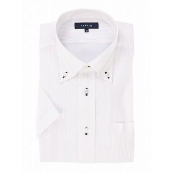 [マルイ]【セール】【残りわずか】形態安定レギュラーフィットボタンダウン半袖シャツ/タカキュー(TAKA-Q)