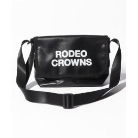 (astute/アスチュート)【RODEO CROWNS】TARPAULIN FLAP SHOULDER/レディース BK