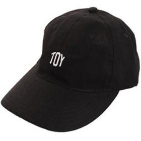 【Super Sports XEBIO & mall店:帽子】リネン刺繍 TOY キャップ 897PA9ST1692 BLK