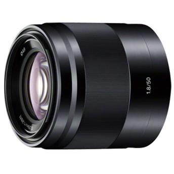 SONY中望遠レンズE 50mm F1.8 OSSブラックSETSEL50F18 BC