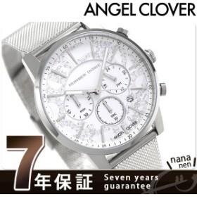 エンジェルクローバー ナンバーナイン クロノグラフ 腕時計 NNC42SWH ANGEL CLOVER ホワイト