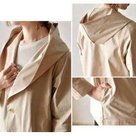 ジャケット・ブルゾン - nakota creacion クレアシオン ハイコンパクトメモリージャージ フーディジャケット アウター レディース 羽織り 日本製