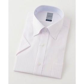 【SALE(三越)】<LORDSON/ロードソン> 半袖色ドビーワイシャツ(ZON610-210)(MO019N0MO00000GIC) 210ピンク 【三越・伊勢丹/公式】