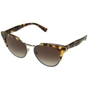 ヴァレンティノ レディース サングラス&アイウェア アクセサリー VA 4026 Persimmon Cubed Havana/Light Gold/Brown Gradient