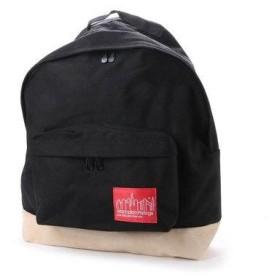 マンハッタンポーテージ Manhattan Portage Suede Fabric Backpack (Black)