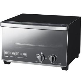 TWINBIRD ミラーガラスオーブントースター ブラック TS-D047B