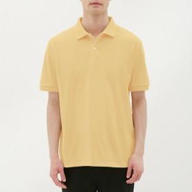 (GU)GUドライポロシャツ(半袖)CL YELLOW XS