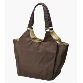小振りな多機能手提げバッグ ■カラー:ブラウン