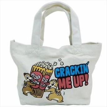 チップ&デール ランチバッグ ミニトートバッグ ディズニー お弁当鞄 キャラクター グッズ