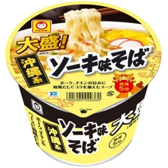 東洋水産 マルちゃん 大盛!沖縄系ソーキ味そば 96g