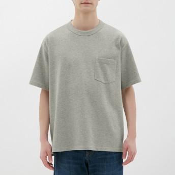 (GU)ヘビーウェイトビッグT(半袖) GRAY XL
