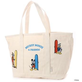 ルートート ROOTOTE SC.グランデ.刺繍Disney-A Surf (アイボリー)