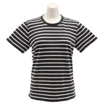 【Super Sports XEBIO & mall店:トップス】【オンライン特価】ボーダー半袖Tシャツ CH2WS9519 BK/WH