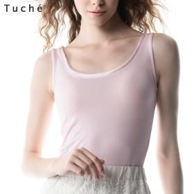 GUNZE グンゼ Tuche(トゥシェ) 【着るコスメ】タンクトップ(レディース)【SALE】 マルシェピンク L