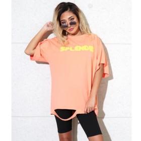 [マルイ]【セール】フクレプリントダメージオーバーサイズTシャツ/アナップ(ANAP)
