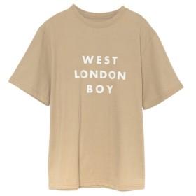 Re: EDIT LONDONロゴTシャツ ベージュ