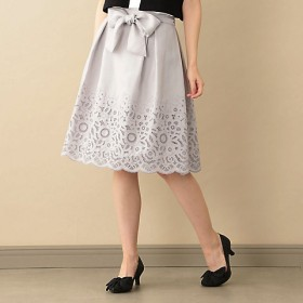 【SALE(三越)】<TO BE CHIC/TO BE CHIC>【ウォッシャブル】トリアセポリツイルスカート(W5S19171__) グレー【三越・伊勢丹/公式】