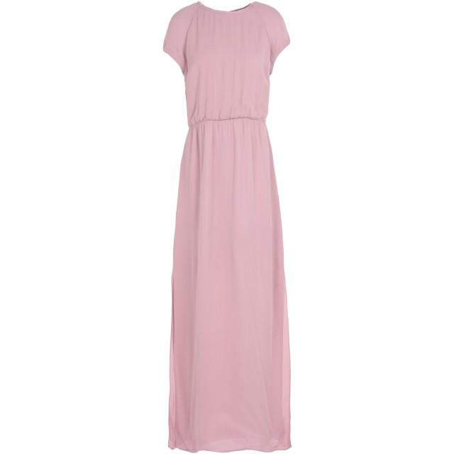《期間限定セール開催中!》SAMSE Φ SAMSE レディース ロングワンピース&ドレス ピンク S レーヨン 100% REYA L DRESS 6616