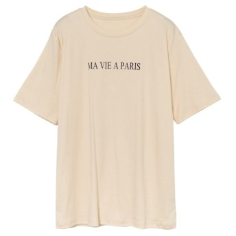 Re: EDIT MAVIEAPARISロゴTシャツ ベージュ