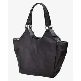 小振りな多機能手提げバッグ ■カラー:ブラック