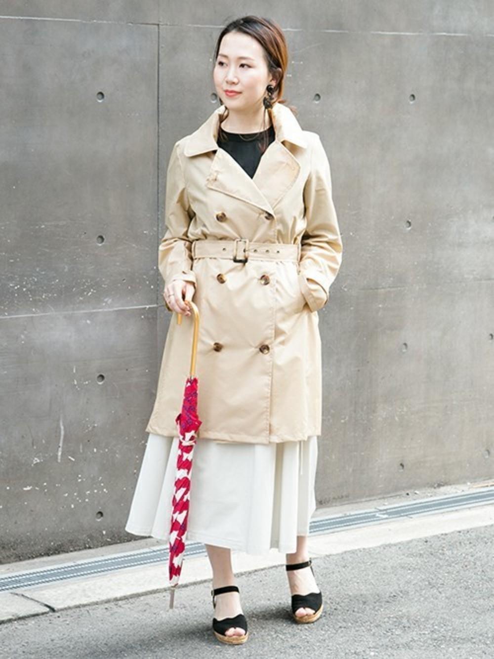 梅雨ファッションの今どきコーデ!手習い帖