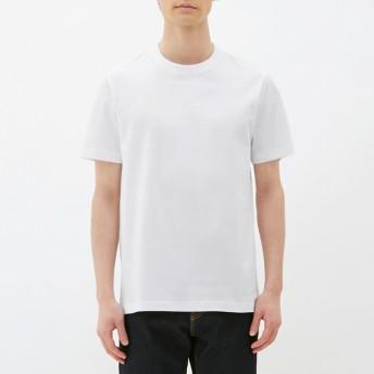 (GU)クルーネックT(半袖) WHITE XL