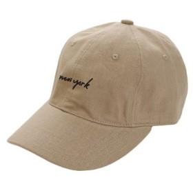 PGAC(PGAC) リネン刺繍 キャップ nwe york 897PA9ST1687 BEG (Men's)