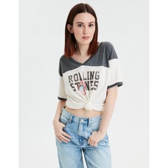 【アメリカンイーグル】AEバンドグラフィックTシャツ