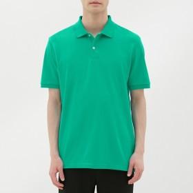 (GU)GUドライポロシャツ(半袖)CL GREEN XL