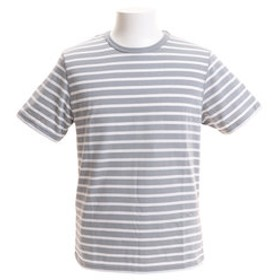 【Super Sports XEBIO & mall店:トップス】【オンライン特価】ボーダー半袖Tシャツ CH2BS9012 GY/WH