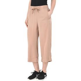 《期間限定セール開催中!》DEHA レディース カプリパンツ ローズピンク M テンセル 100% CROPPED WIDE LEG PANTS