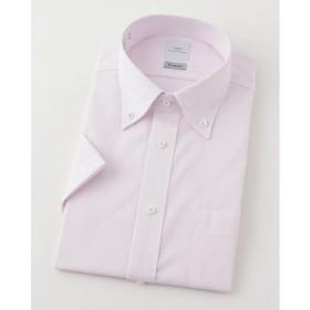 【SALE(三越)】<SMC> 半袖チェックワイシャツ(CMN621-610)(MO016N0MO00000GIA) 610ピンク 【三越・伊勢丹/公式】