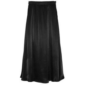 Re: EDIT シャイニーAラインギャザースカート ブラック