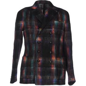 《送料無料》THE GIGI メンズ テーラードジャケット ブラック 50 ウール 59% / モヘヤ 38% / ナイロン 3%