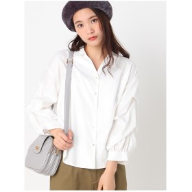 archives シルキーブロードブラウス OFF WHITE