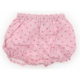 【メゾピアノ/mezzopiano】ショートパンツ 80サイズ 女の子【USED子供服・ベビー服】(401071)