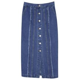 Re: EDIT 切り替えデニムタイトスカート ブルー