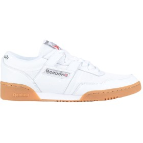 《期間限定セール開催中!》REEBOK メンズ スニーカー&テニスシューズ(ローカット) ホワイト 8 革 / 紡績繊維 WORKOUT 85 TXT