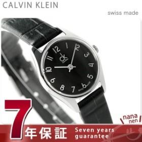 【あす着】カルバンクライン クラシック クオーツ レディース 腕時計 K4D231CX ブラック