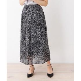 ロングスカート - SOUP innowave ジラフプリーツロングスカート