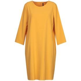 《セール開催中》MANILA GRACE レディース ミニワンピース&ドレス オークル 38 ポリエステル 68% / レーヨン 28% / ポリウレタン 4%