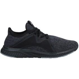 《セール開催中》ADIDAS レディース スニーカー&テニスシューズ(ローカット) ブラック 4.5 紡績繊維