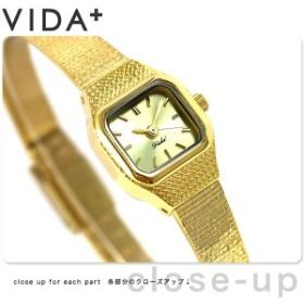 ヴィーダプラス VIDA+ V ジャパンメイド 16mm レディース V-002-C 腕時計 ゴールド