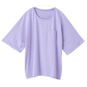 [マルイ] 【ラウンドタイプ】ハッピーモイスチャーカットソーラウンドネックゆったり半袖Tシャツ/ハッピーマリリン(大きいサイズ)(AHAPPYMARILYN)