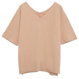 Re: EDIT USAコットン両VネックTシャツ[PREMIUM] ピンク