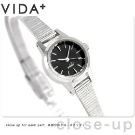 ヴィーダプラス VIDA+ V ジャパンメイド 19mm レディース V-006S 腕時計 ブラック