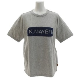 クリフメイヤー(KRIFF MAYER) ロゴ ゆる Tシャツ 1857231L-2-GRY (Lady's)